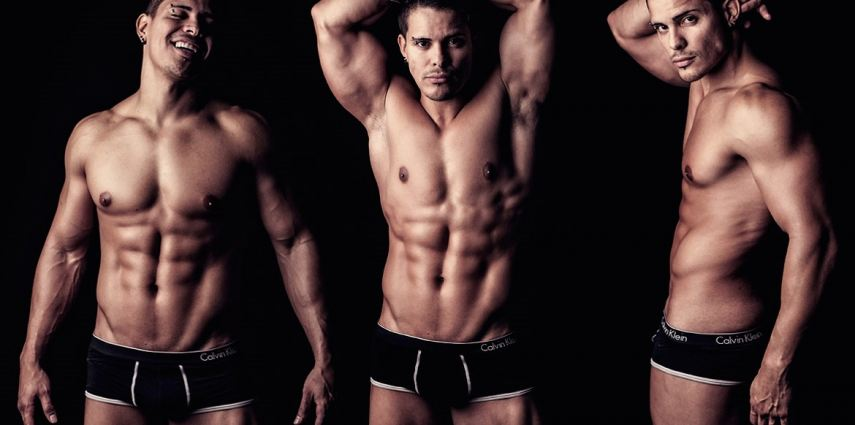 Male pic show strip